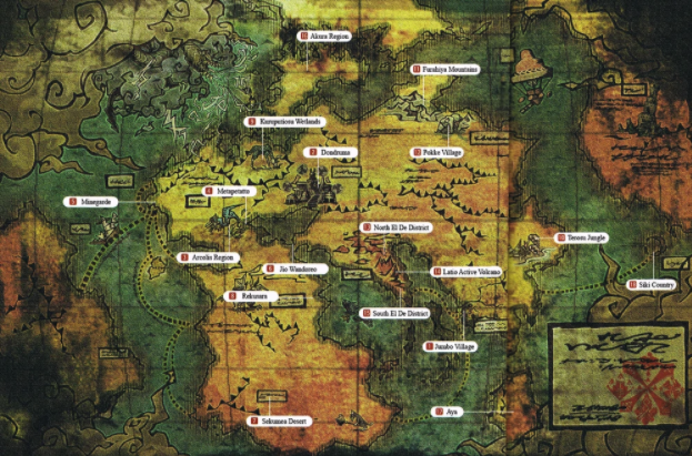 Map Mh
